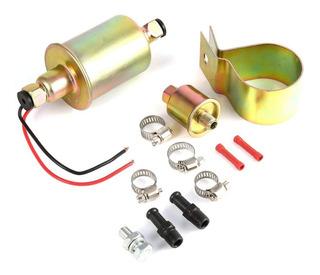 Bomba Electrica De Combustible Nafta O Gasoil Universal Externa 12 Volt Carburador Y Cebado Diesel Gasoil