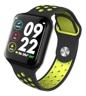 Relogio Smartwatch F8 Troca Pulseira Ip67 Ios iPhone Android