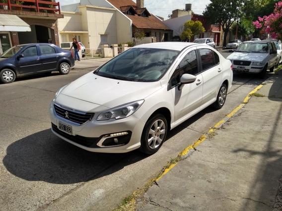 Peugeot 408 1.6 Active 2015 (l/ Nueva) Único Dueño !!