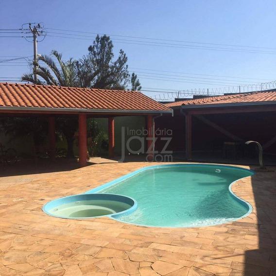 Chácara Com 1 Dormitório À Venda, 485 M² Por R$ 575.000 - Parque Manoel De Vasconcelos - Sumaré/sp - Ch0127