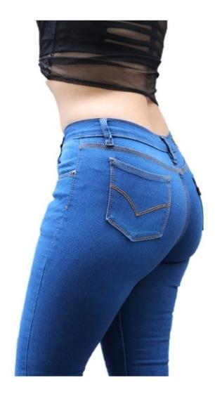 Jeans Pantalón De Dama Mezclilla Strech Envio Gratis