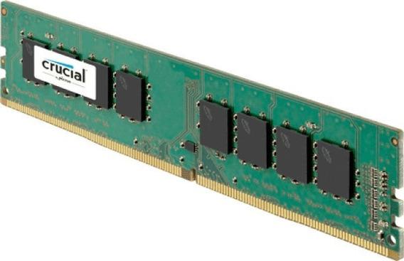 Memoria Ram Ddr4 4gb Crucial 2666 Mhz Udimm
