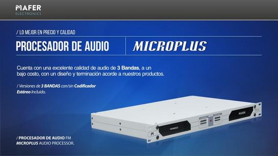 Procesador De Audio Microplus Con Codificador Estereo