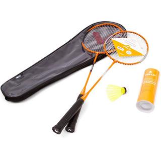 Kit Badminton Vollo 2 Raquetes E 3 Petecas + Bolsa- Original