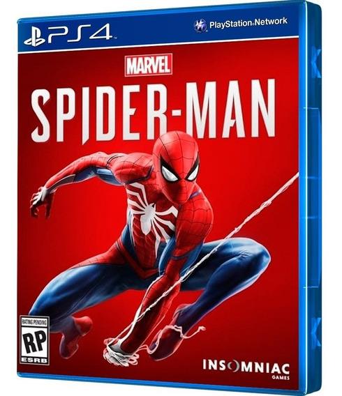 Jogo Marvel Spider Man - Homem Aranha - Spiderman Ps4
