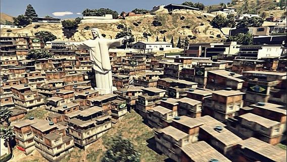 Gta V Mod Favela Do Rio De Janeiro - Pc
