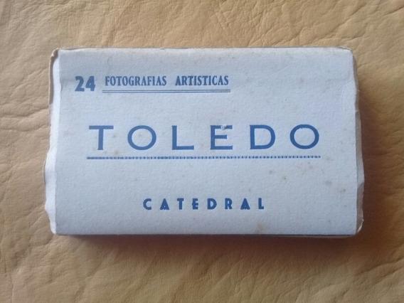 Tarjeta Postal - Minilibro Catedral De Toledo - España
