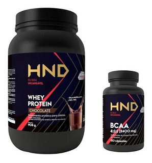 Whey Protein Hnd + Bcaa