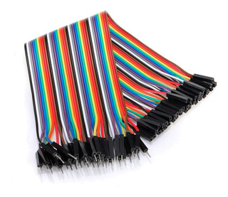 Pack 40 Cables Dupont Protoboard Macho Hembra Arduino 20cm