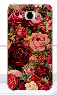 Capa Case Samsung S6 Edge Plus Florida Luxo G925 Vermelha