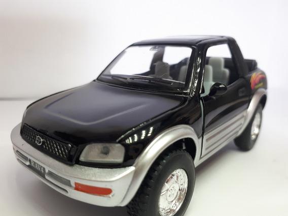 Miniatura Toyota Cabriolet Rav4 Metal Brinquedo Escala 1.32