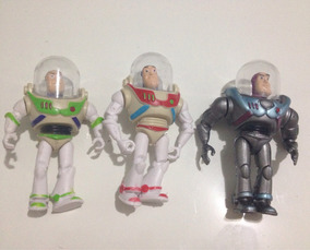 Miniatura Buzz Lightyear Toy Story - 3 Unidades