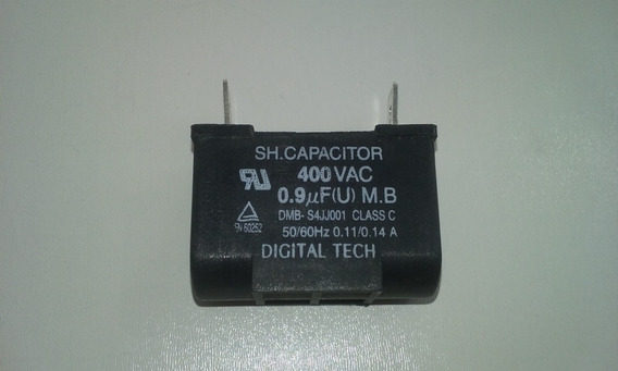 Capacitor 0.9uf/400vac Da Evap. Lg Mod. Shn061fa