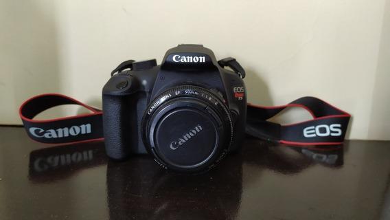Canon T5 + Lente 50 Mm
