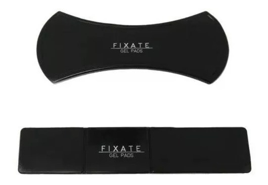 Suporte Celular Fixate Lama Tablet Sticks Gel Preta Pad 2 Pç