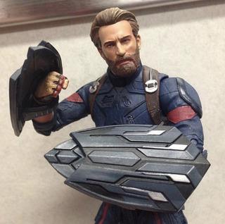 Capitan America -iron Man - Spiderman - Thor - Marvel Select