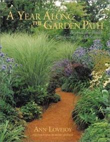 Livro A Year Along The Garden Path Jardinagem