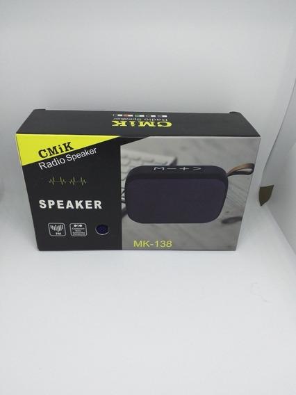 Caixinha De Som Portátil, Via Bluetooth E Rádio Mais Barato
