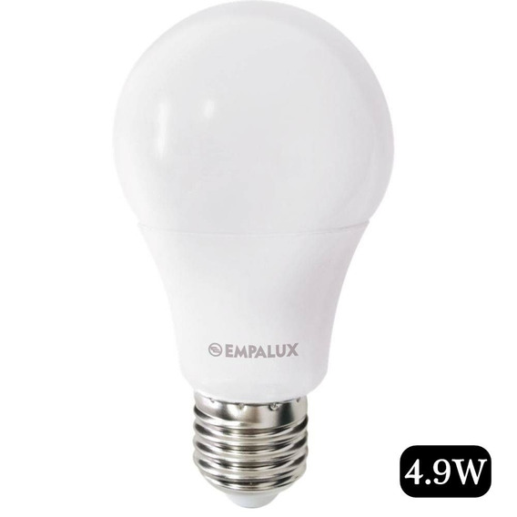 Lampada Led Bulbo A60 4.9w Bivolt 6.500k Empalux + Envio 24h