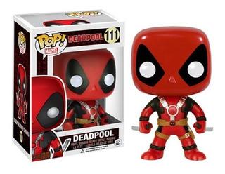 Funko Pop Deadpool Con Espadas 111 Nuevo Original Stock