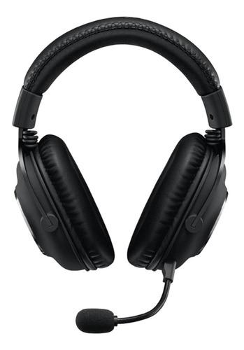 Imagen 1 de 4 de Auriculares Gamer Logitech Pro X Negro