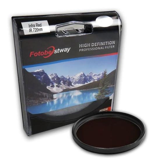 Filtro Infra Red Ir 720 58mm Fotobestway