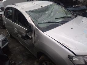 Sucata Renault Logan 1.6 8v 2015 Para Retirada De Peças