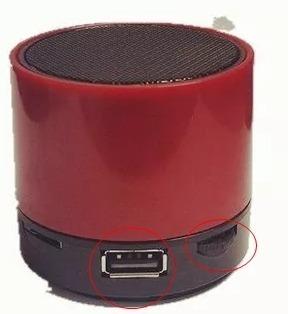 Caixa De Som Bluetooth Mini Radio E Tf Cartão