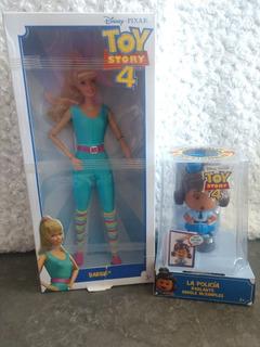 Toy Story Barbie Y Giggle Policía Parlante