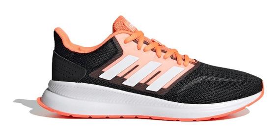 adidas Zapatillas Running Mujer Run Falcon Neg-nja-bco Ras