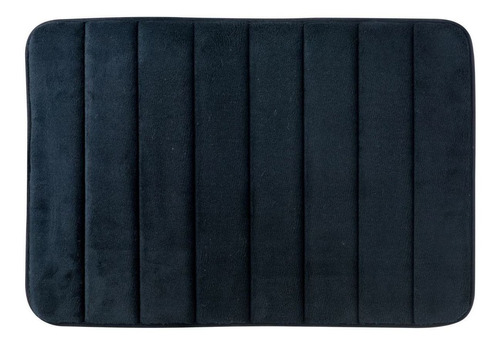 Imagen 1 de 3 de Tapete Para Baño Foam Rc 40x60 Cm Negro