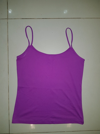 Musculosa Zara M Violeta!!