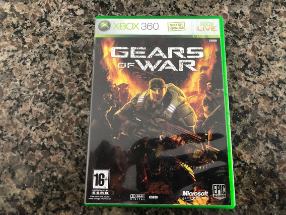 Gears Of War Xbox 360 Original Americano