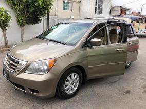 Honda Odyssey 3.5 Exl Minivan Cd Qc Piel At 2010