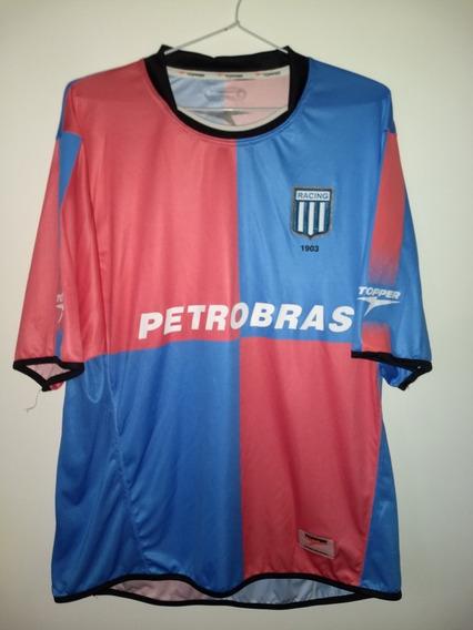 Camiseta De Racing Club De Avellaneda 2005 Topper Impecable