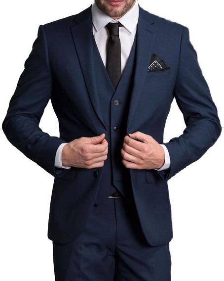 Kit Terno+camisa+colete+gravata+frete Grátis !