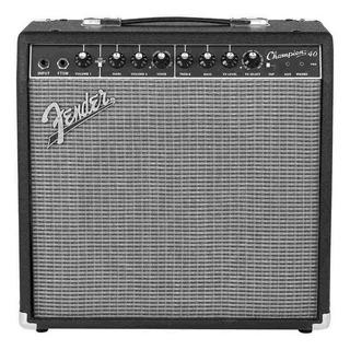 Amplificador Fender Champion Series 40 Transistor 40W negro y plata 220V