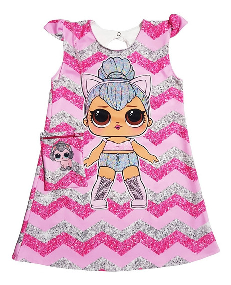 Vestido Lol Para Nenas: Kitty Queen Con Cartera De Regalo