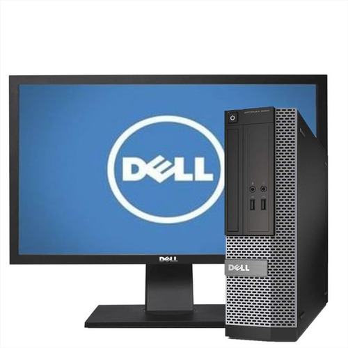 Cpu + Monitor Dell Optiplex Core I5 8gb 500gb - Promoção
