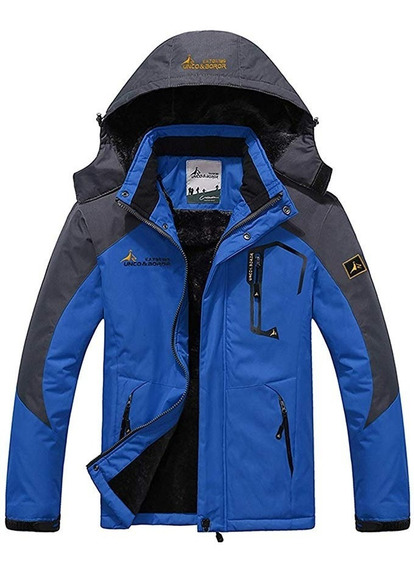 Chamarra Alpina Parka Polar Termica Fleece Frio Extremo