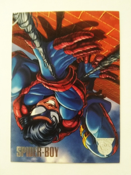 Amalgam 1996 Spider-boy Promo Trading Card Marvel Vs Dc