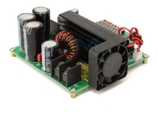 Elevador Tensão 900w Boost Up Step Up 15a 8-60v Para 10-120v
