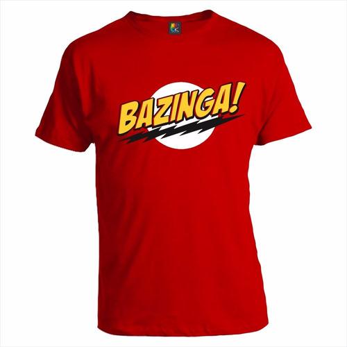 Remera Personalizada The Big Bang Theory Bazinga Ok Creativo