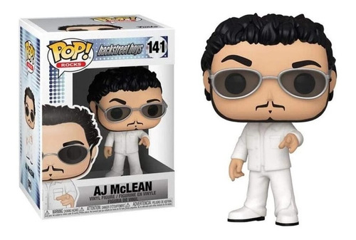 Funko Pop Aj Mclean #141 Backstreet Boys Regalosleon