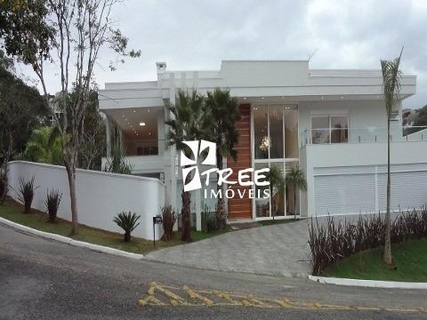 Casa A Venda No Condomínio Arujá Hills I Ii Com At: 2200m² Sendo 700m² - Ca01003 - 2548743