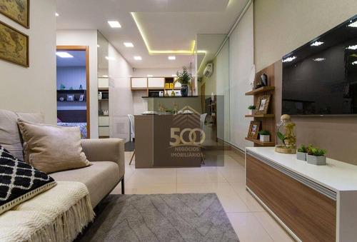 Imagem 1 de 17 de Apartamento À Venda, 44 M² Por R$ 150.000,00 - Bela Vista - Palhoça/sc - Ap2433