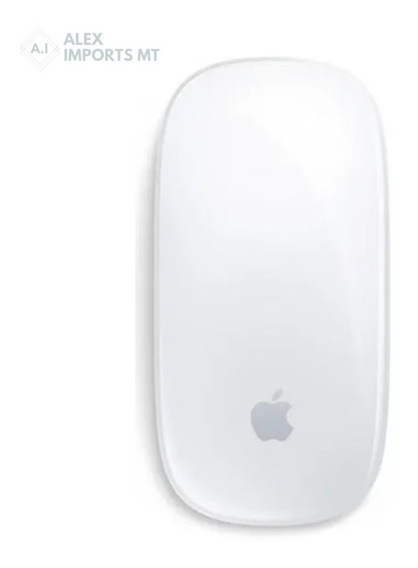 Mouse Tátil Sem Fio Apple Magic 2 Prata Original Mause Profi