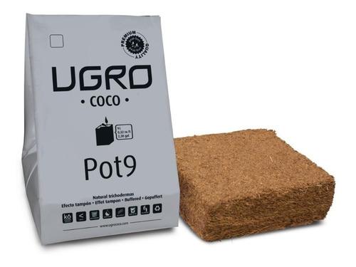 Fibra De Coco Ugro Pot 9 Litros Con Maceta