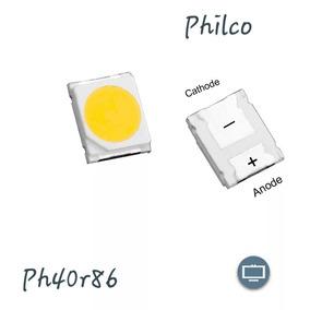 40 Led Tv Philco Ph40r86 Dsgw P/ Barra Com 5 Leds