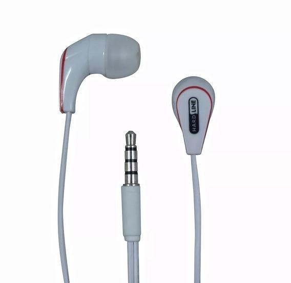 Fone De Ouvido Intra Auricular Hardline Kit C/ 10un